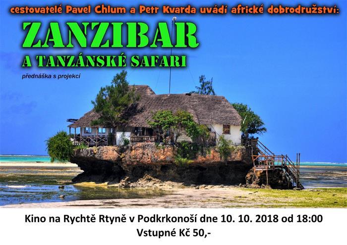 Image Cestopisná přednáška Zanzibar
